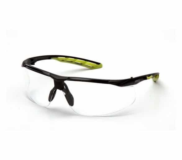 Pyramex Flex-lyte ESBL10510DTM ، نظارات السلامة ، واضحة ، غير تعفير