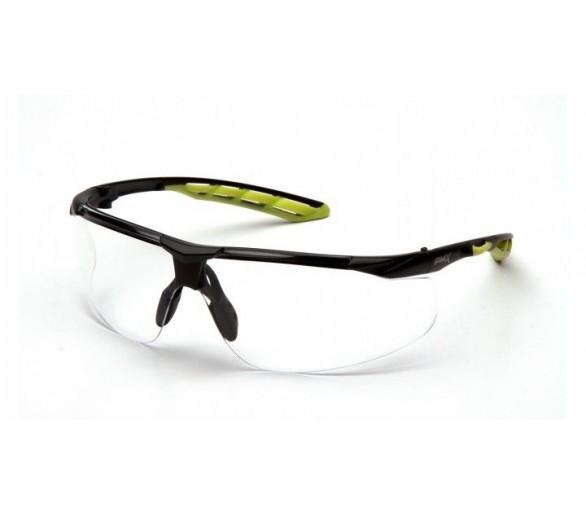 Pyramex Flex-lyte ESBL10510DTM, occhiali protettivi, trasparenti, antiappannamento