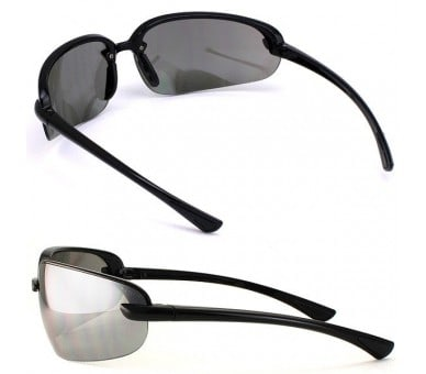 Pyramex Protocol SB 6220D, brýle, černý rámeček, šedé sklo