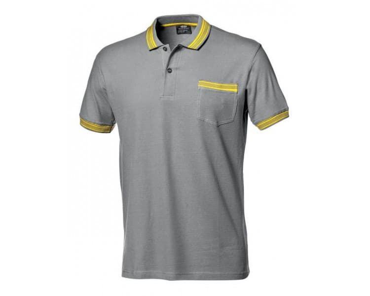 SALSA working shirt with gray collar