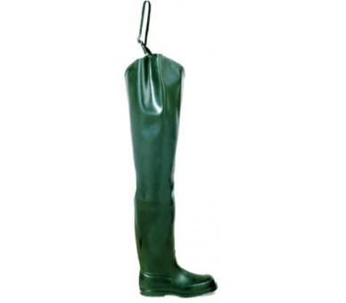 FISHERMAN gumová obuv pro rybáře zelená