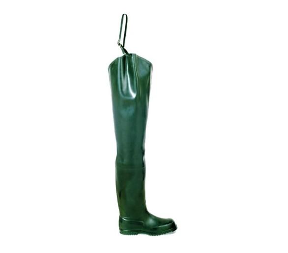 Buty gumowe FISHERMAN dla rybaków zielone
