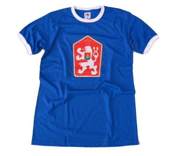 T-shirt retro Checoslováquia