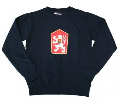 Sweatshirt ORLANDO Retro Tschechoslowakei blau