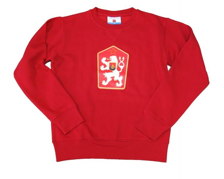 Sweatshirt ORLANDO Retro Czechoslovakia red