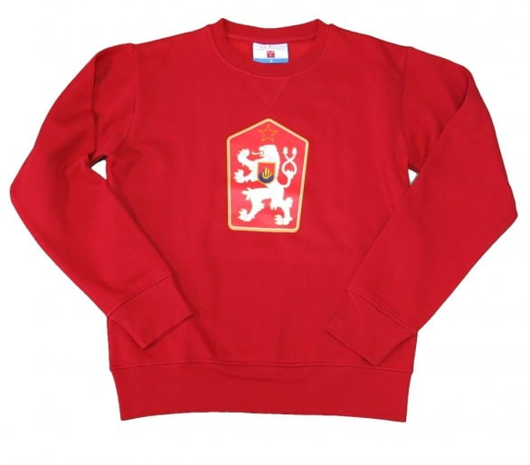 Sweatshirt ORLANDO Retro Tschechoslowakei rot