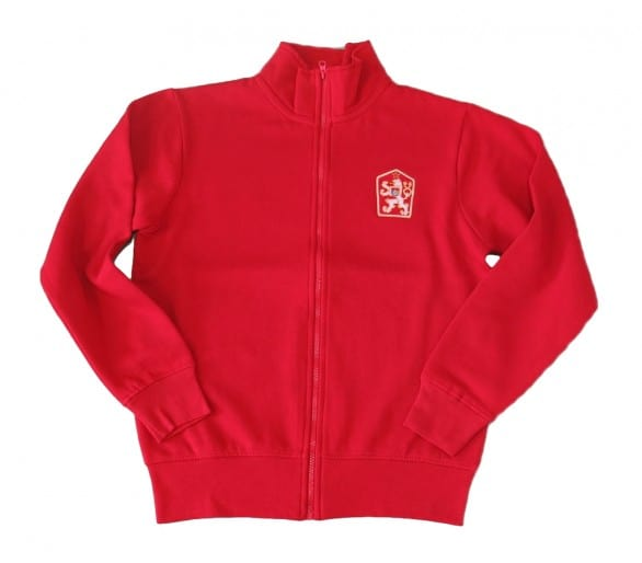 Sudadera HOUSTON Retro ČSSR roja