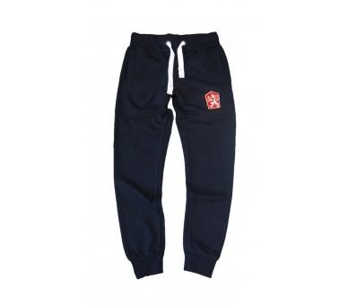 Spodnie dresowe Retro Czechosłowacja niebieskie