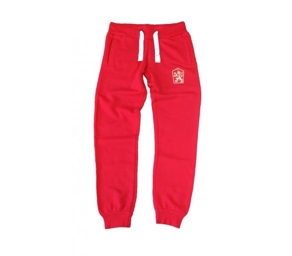 Pantaloni della tuta Retro Cecoslovacchia rosso