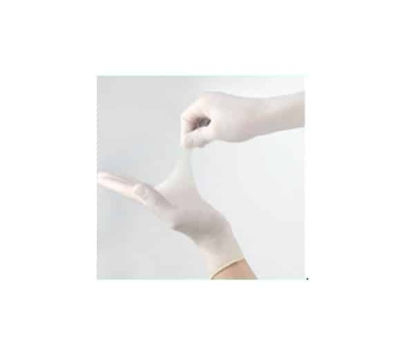 Powder free Disposable Latex Gloves 9-inch