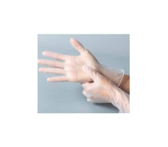 Powder free Disposable PVC Gloves 9-inch