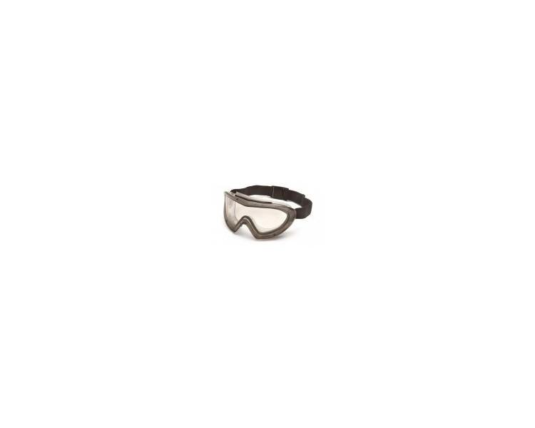 Capstone EGG504T, ochranné brýle, šedá obruba, čirý zorník, nemlživé