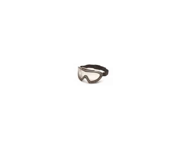 Capstone EGG504T, brýle, šedý rámeček, čirý zorník, nezamlžující se