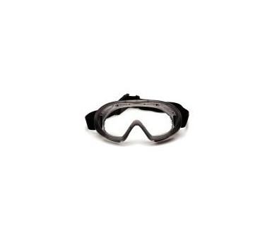 Capstone EGG504T, очки, серая оправа, прозрачные линзы, не запотевают