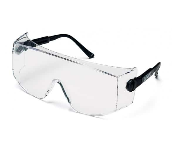 Defiant ESB1010SJ, safety goggles, black side, clear