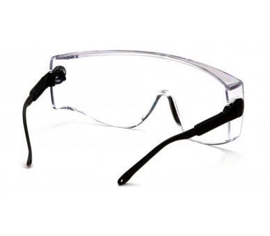 Defiant ESB1010SJ, защитные очки, черные по бокам, прозрачный