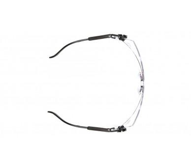 Defiant ESB1010SJ, occhiali, lati neri, trasparente