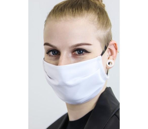 2-warstwowa tekstylna ochronna zasłona twarzy