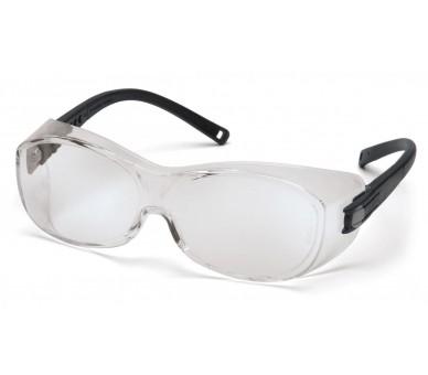 OTS ES3510SJ, защитные очки, черные по бокам, прозрачные