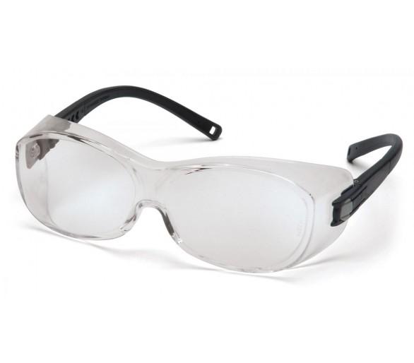 OTS ES3510SJ, защитные очки, черные бока, прозрачные