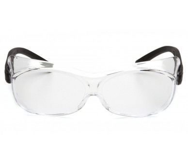 OTS ES3510SJ, goggles, black sides, clear