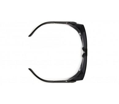 OTS ES3510SJ, ochranné brýle, černé stranice, čiré