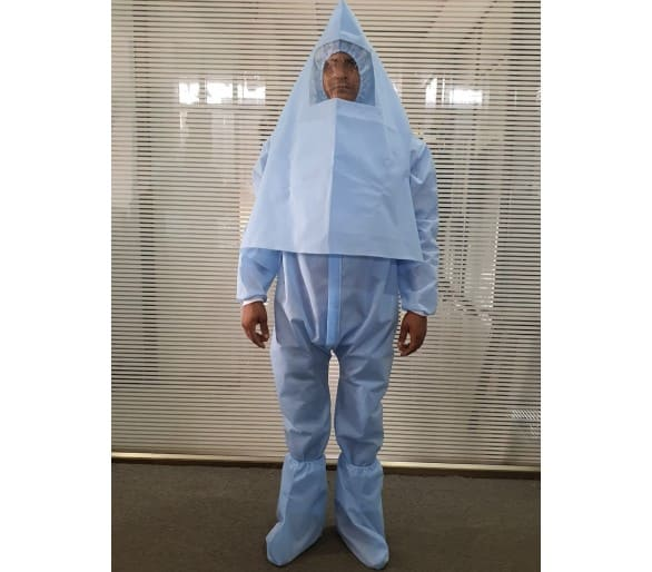 Coverall PPE - 70 GSM PP Meltblown Fabric set