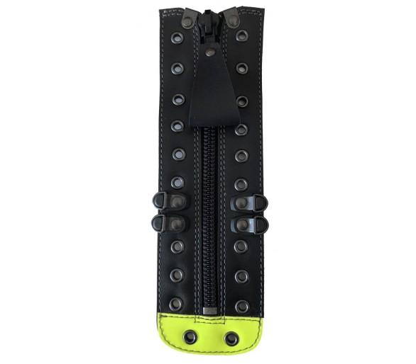 ZEMAN 412 zipper for fire and emergency footwear