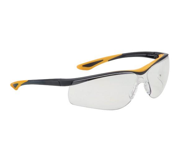 DUNLOP SPORT 9000 B (chiaro) - Occhiali di protezione con lenti antigraffio