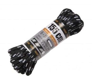 BNN Laces Black-Grey Box 155 cm