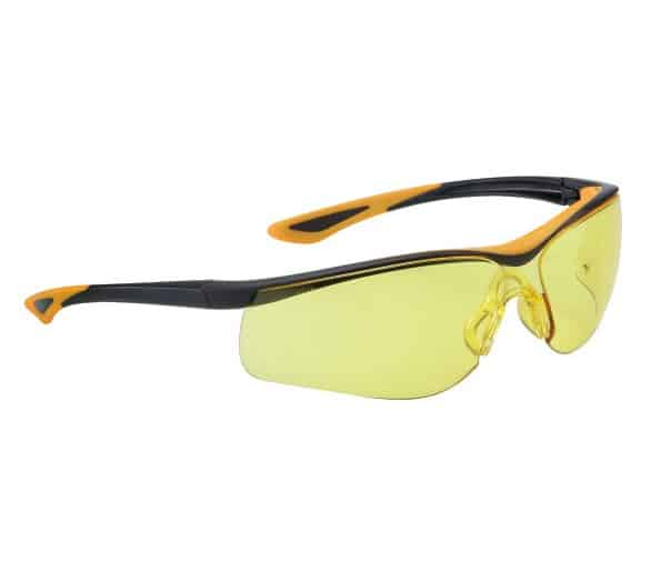 DUNLOP SPORT 9000 C (yellow) - protective goggles with lenses for increased visibility
