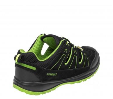 Sandál ADM ALEGRO S1 ESD zelený