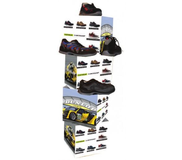 Étagère à chaussures DUNLOP pour le magasin