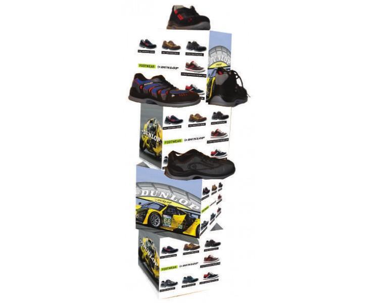 DUNLOP stojan na topánky do obchodu