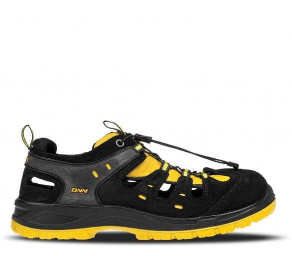 BNN BOMBIS LITE S1 NM žlutý sandál