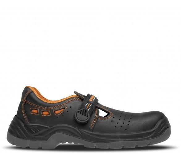BNN LUX S1P nekovový sandál