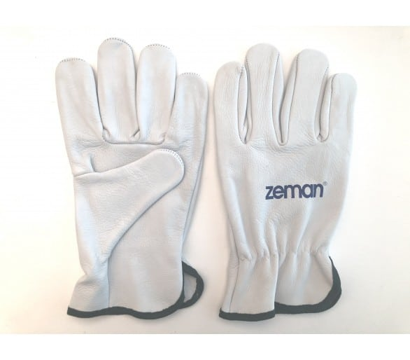 ZEMAN® DRIVER full leather work gloves - Natural