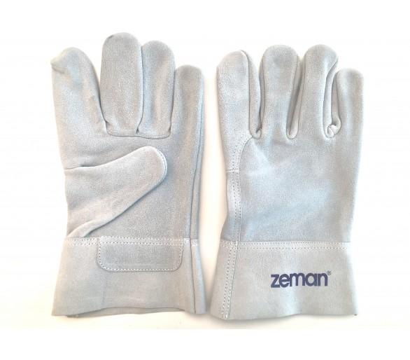 ZEMAN® TIG قفازات عمل جلدية كاملة - طبيعي
