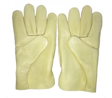 ZEMAN® DRIVER celokožené pracovní rukavice - Žlutá