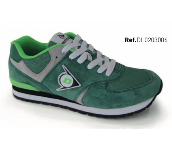 DUNLOP Flying Wing Green leisure and work shoes