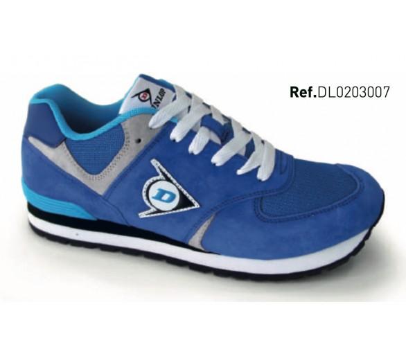 Dunlop FLYING WING Modrá volnočasová a pracovní obuv
