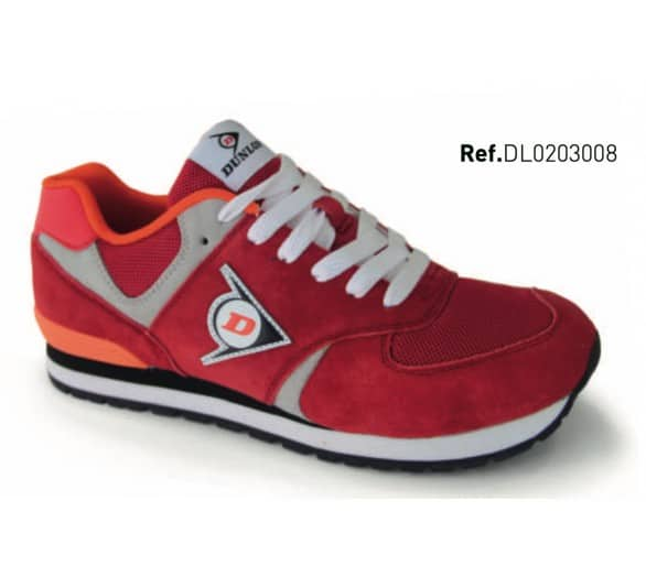 DUNLOP Flying Wing Red leisure and work shoes