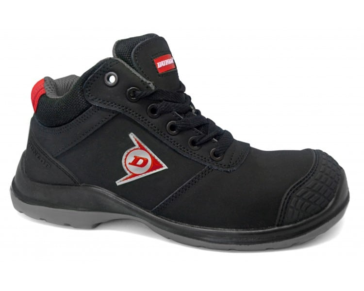 DUNLOP First One Adv EVO High pracovni a bezpecnostni obuv černo-šedá