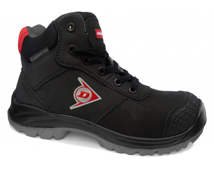 DUNLOP First One Adv High EVO Plus - рабочие и защитные ботинки черно-шеде