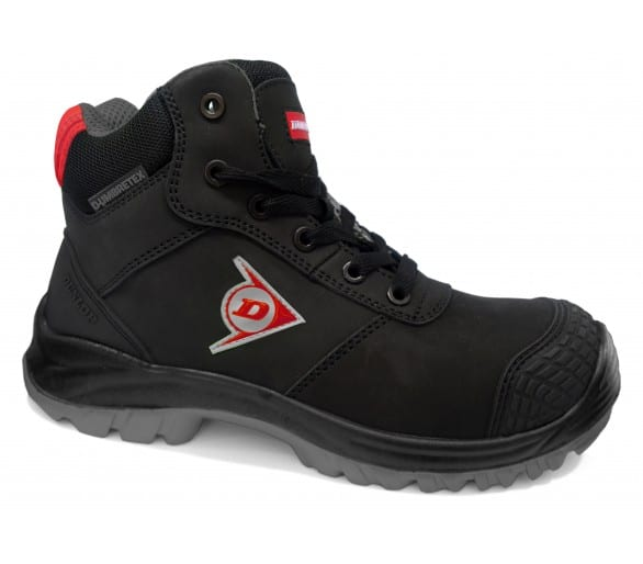 Dunlop FIRST ONE ADV-EVO High Plus - pracovní a bezpečnostní obuv černo-šedá