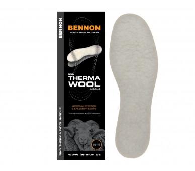 BNN THERMA Wool Insole 36-46
