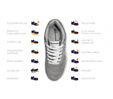 DUNLOP Flying SKY S3 - рабочая и защитная обувь синий