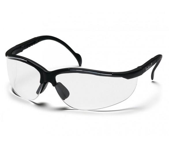 Venture II ESB1810ST ochranné brýle, černé obruby, čiré
