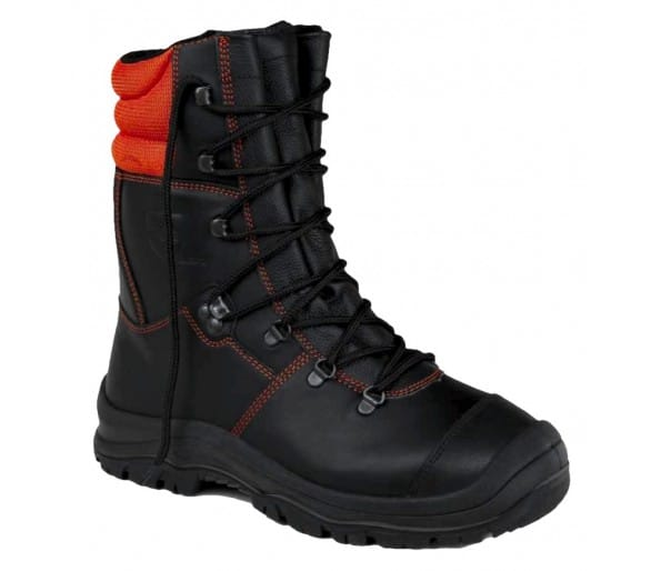 ZEMAN WOODCUT S3 Class 2 cut resistant chain saw boots