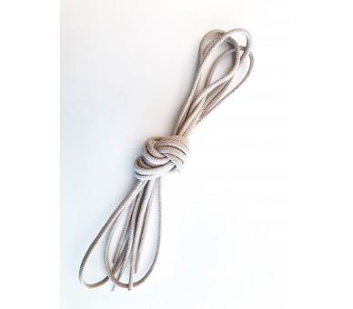 Thick round laces, hydrophobic finish, desert color